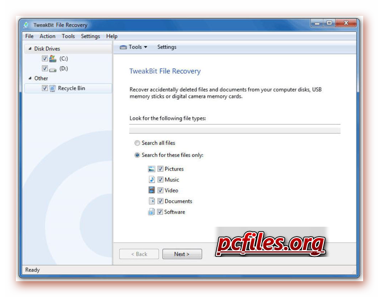 TweakBit File Recovery Crack