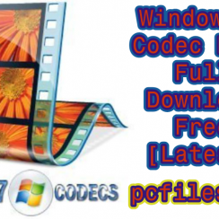 Windows 7 Codec Pack Full 4.2.6 Download Free [Latest] 4