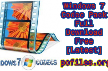 Windows 7 Codec Pack Full 4.2.6 Download Free [Latest] 2