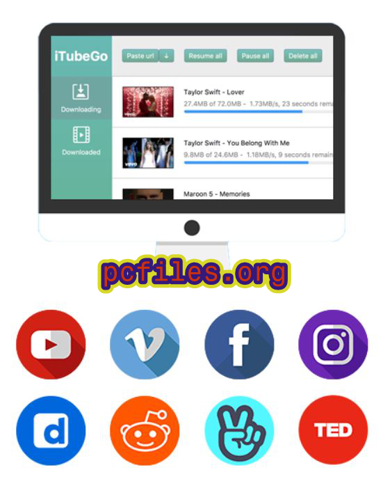 iTubeGo YouTube Downloader Crack, iTubeGo YouTube Downloader Crack Free Download