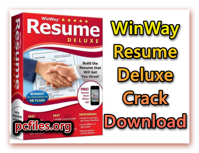 Winway Resume Deluxe Crack 14 00 018 Download Latest
