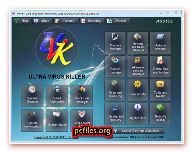 UVK Ultra Virus Killer License Key, Download Virus Remove Software, Virus Cleaner for PC