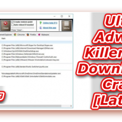 Ultra Adware Killer Free Download, Adware Removal Tool