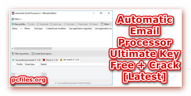 Automatic Email, Automatic Email Processor Crack