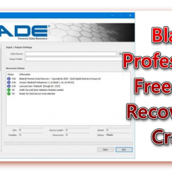 Blade Professional Data Recovery Software