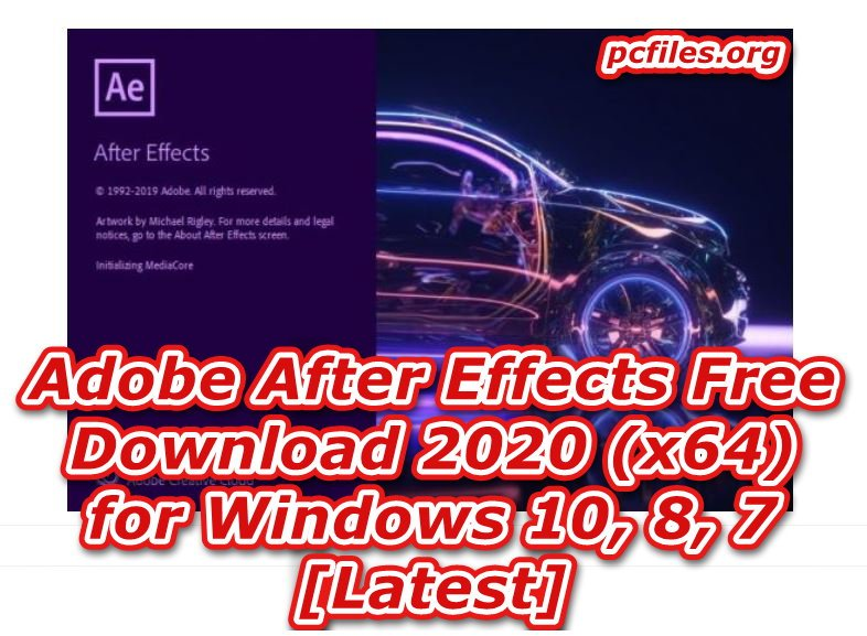 After Effects Free Download Full Version