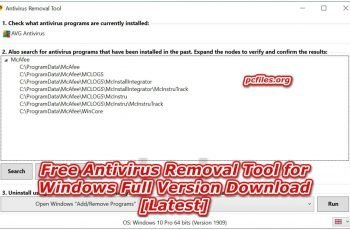 Free Antivirus Removal Tool