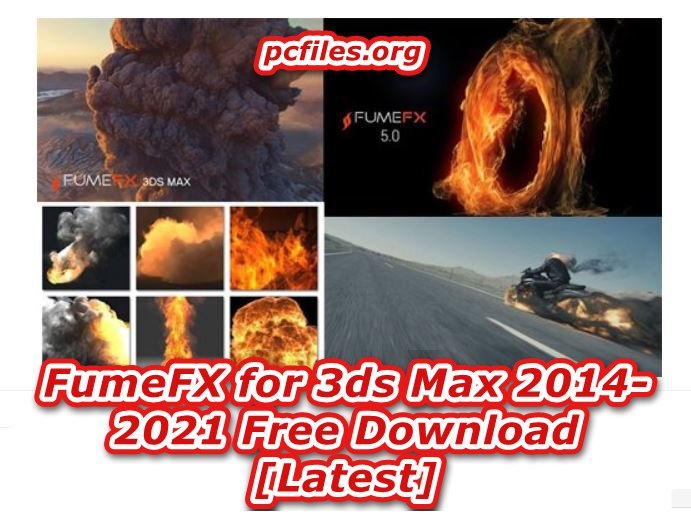 Fume FX 3ds MAX 2020 Free Download