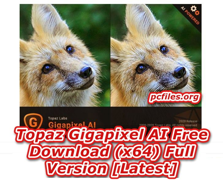 Topaz Gigapixel AI Free Download, Pixel Images Software Free Download